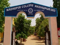 Front View of Madhupur College